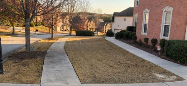 Lawn and landscape maintained by Gwinnett Lawns Lawn Care in Gwinnett County, GA.